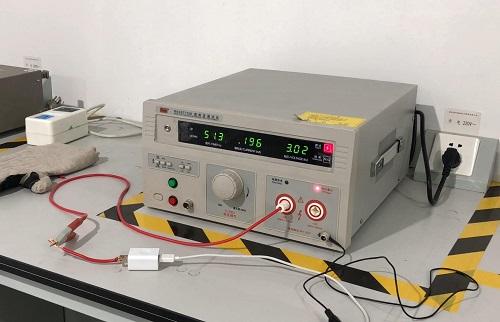 抗电强度测试
